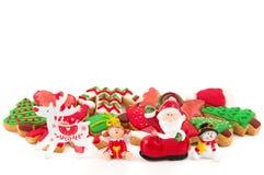 Weihnachts- und des neuen Jahresthemenorientierte Dekoration Lizenzfreie Stockfotografie