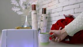 Weihnachts- und des neuen Jahrestoastbrot bereit stock footage