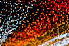 Weihnachts-und neues Jahr-Lichter Bokeh Lizenzfreies Stockfoto