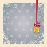 Weihnachts-/Winterhintergrund - Klingel Lizenzfreie Stockfotos