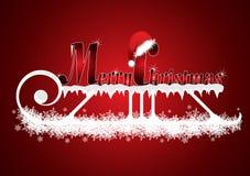 Weihnachtsabbildung Lizenzfreies Stockfoto