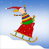 Weihnachtsabbildung Stockfoto