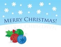 Weihnachtsabbildung Lizenzfreie Stockfotografie