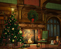 Weihnachtsabend Stockfotografie