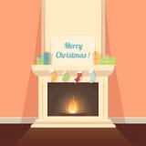 Weihnachtsabend Stockbild