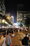Weihnachtsabend in Hong Kong Stockfoto