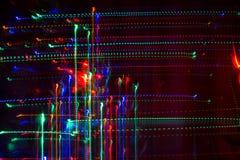 Weihnachtsabstrakte helle Muster Lizenzfreie Stockfotos