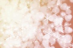 Weihnachtsabstrakte Hintergründe Weihnachtsabstraktes Defocused BAC Lizenzfreies Stockfoto
