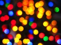 Weihnachtsabstrakte Leuchten Lizenzfreies Stockbild