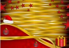 Weihnachtsabstrakter Hintergrund stockfoto