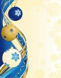 Weihnachtsabstrakter Hintergrund Lizenzfreies Stockbild