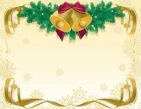 Weihnachtsabstrakter Hintergrund Lizenzfreie Stockbilder