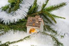 Weihnachtsabstraktes Foto stockfotos