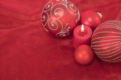 Weihnachtsanordnung lizenzfreies stockbild