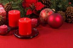 Weihnachtsanordnung Stockbild