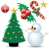 Weihnachtsansammlung Stockbilder