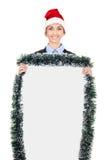 Weihnachtsanschlagtafel lizenzfreie stockbilder