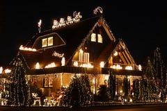 Weihnachtsansicht Stockbilder