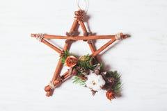 Weihnachtsaromatischer Stern Lizenzfreies Stockbild