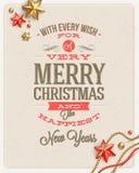 Weihnachtsart Design Stockfotografie