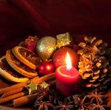 Weihnachtsatmosphäre Stockfoto