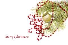 Weihnachtsaufbau lizenzfreie stockfotografie