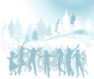 Weihnachtsaufbau Lizenzfreie Stockfotos