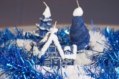 Weihnachtsaufbau Lizenzfreies Stockbild