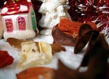 Weihnachtsaufbau Stockfotos