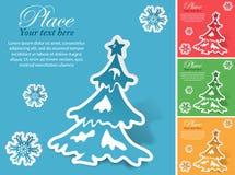 Weihnachtsaufkleber Stockbild
