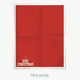 Weihnachtsaufkleber Lizenzfreie Stockbilder