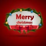 Weihnachtsaufkleber Stockbilder