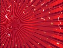 Weihnachtsausläuferhintergrund Stockfotografie