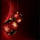 Weihnachtsauslegung Stockfotografie