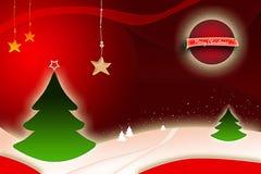 Weihnachtsauslegung Stockfoto