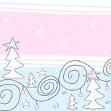 Weihnachtsauslegung Stockbild