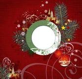 Weihnachtsauslegung. Lizenzfreie Stockbilder