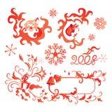 Weihnachtsauslegung Lizenzfreies Stockbild