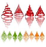 Weihnachtsauslegung-Elemente Lizenzfreies Stockbild