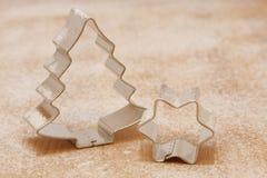 weihnachtsausstecher резцов печенья рождества Стоковая Фотография