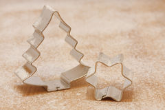 Weihnachtsausstecher | Christmas cookie cutters Stock Photography