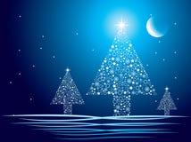 Weihnachtsauszug stock abbildung