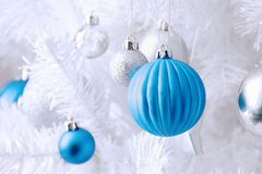 Weihnachtsbälle lizenzfreie stockbilder