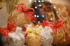 Weihnachtsbälle Lizenzfreies Stockfoto