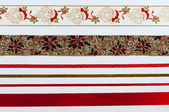 Weihnachtsbänder Lizenzfreie Stockfotografie