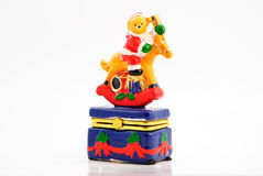 Weihnachtsbär Lizenzfreies Stockbild
