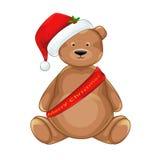 Weihnachtsbär Stockfoto