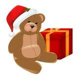 Weihnachtsbär Lizenzfreie Stockfotos