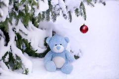 Weihnachtsbär Lizenzfreies Stockfoto