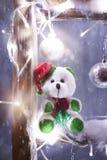 Weihnachtsbär lizenzfreie stockbilder